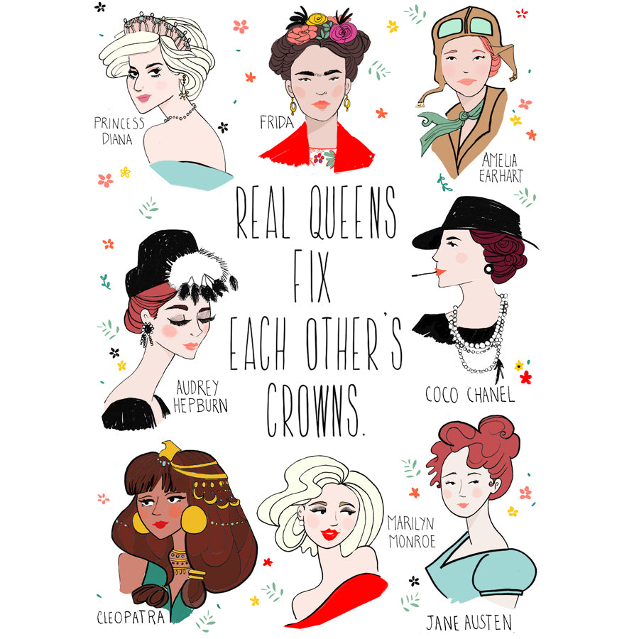 Real Queens Tote Bag