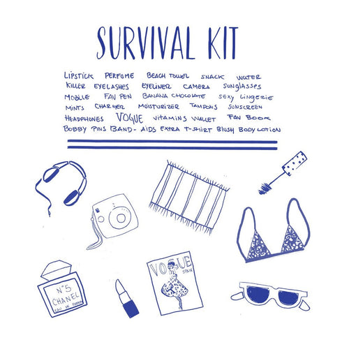 Survival Kit Tote Bag