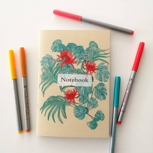 Wild Vegetal Notebook