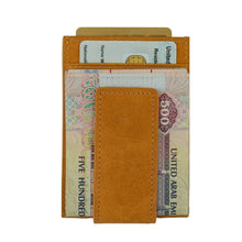 Load image into Gallery viewer, Brown - Slim Card Holder with Money Clip-Wallet-UAE LEATHERS
