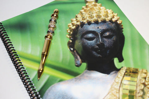 Buddha Notebook & Pen Gift Set