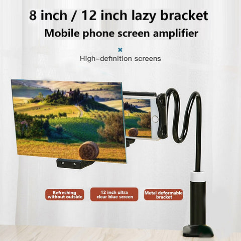 8/12 inch Mobile Screen Magnifier Bracket