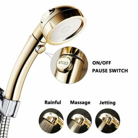 3 In 1 High Pressure Shower Head (Buy 2 Free Shipping)
