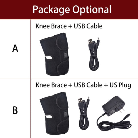 Arthritis Knee Support Brace Infrared Heating Therapy Kneepad for Relieve Knee Joint Pain Knee Rehabilitation
