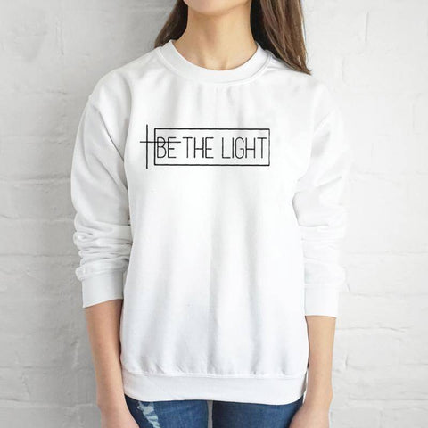 Be The Light Sweater - CraveStuff