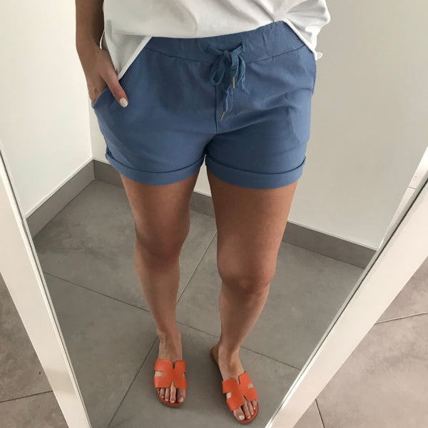 Magic Shorts - Denim Blue