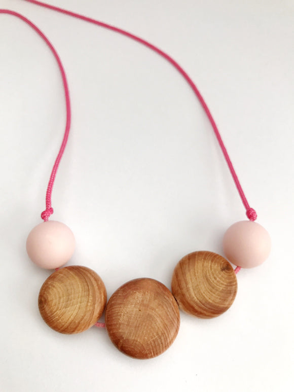 Teething necklace nursing necklace