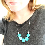 gemstone necklace, turquoise necklace, turquoise gemstone, moonstone, moonstone gemstone