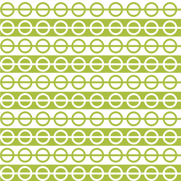 Circular Green Christmas Wrap Photo Backdrop