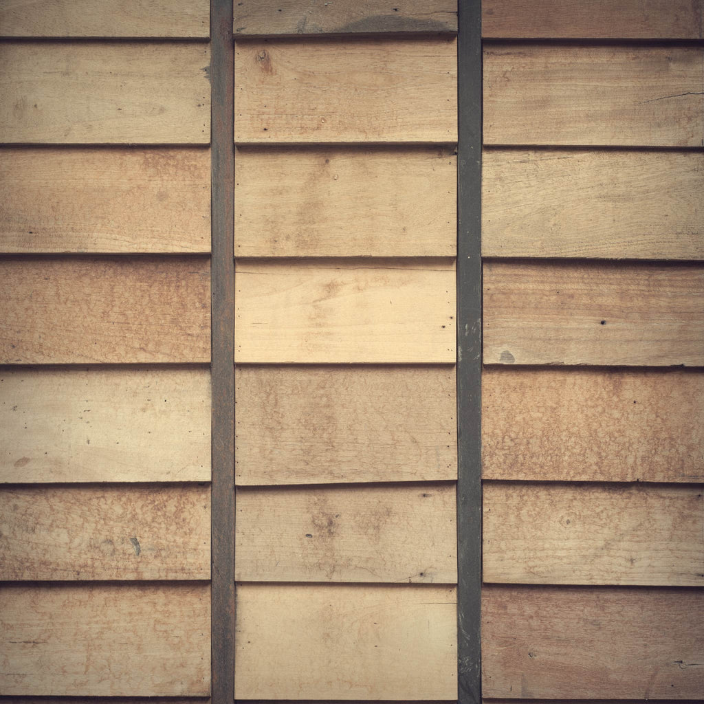 Shingled Wood Slates Photo Backdrop