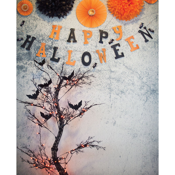 Abstract Pellicle Halloween Photo Backdrop