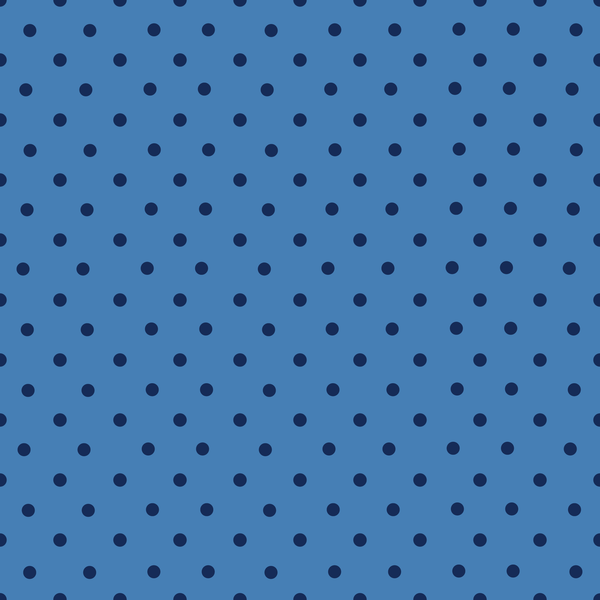 Small Blue Polka Dot Photo Backdrop