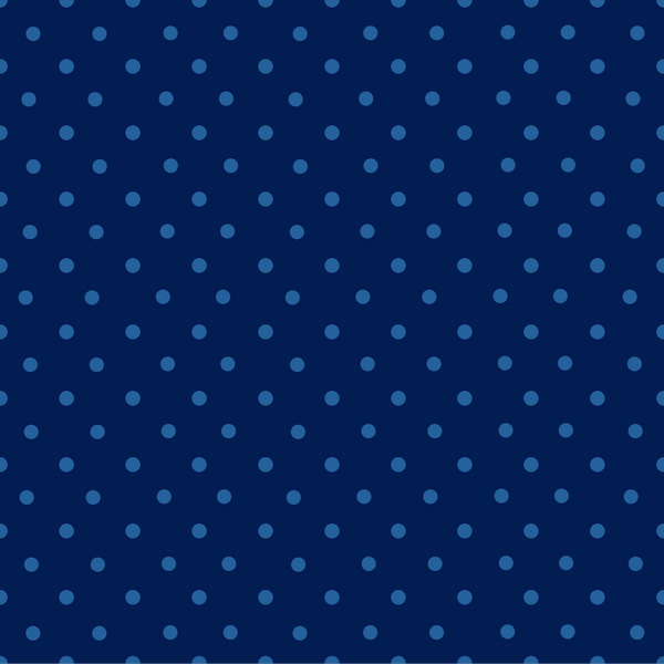 Blue on Blue Dots Backdrop