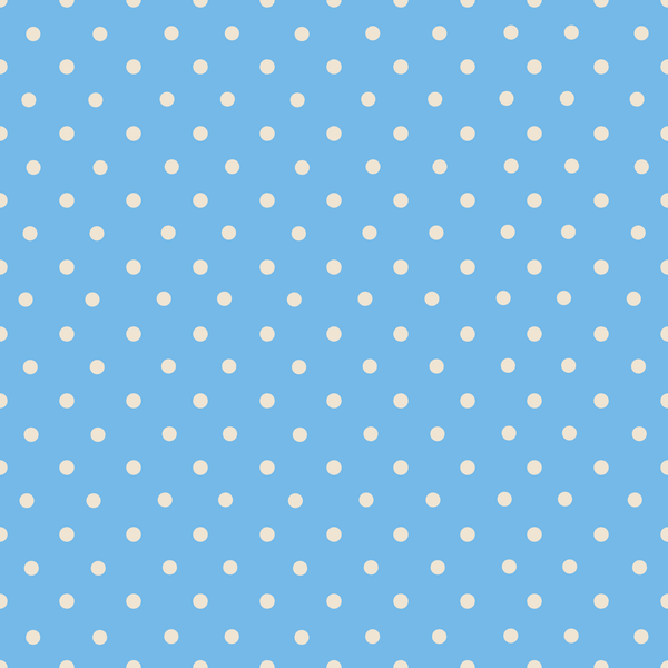 Small Polka On Blue Photo Backdrop
