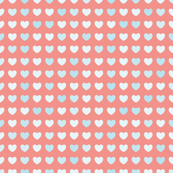 Small Hearts On Pink  Photo Backdrop