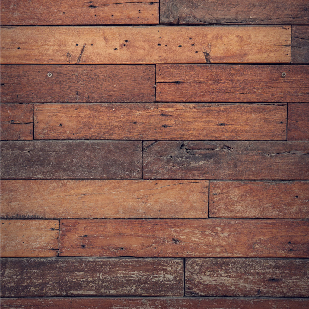 Brown Wooden Slates Photo Backdrop