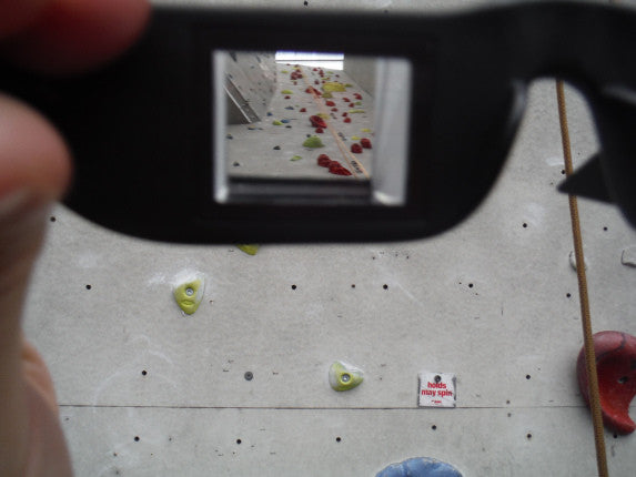 Climbing Frog Belay Glasses