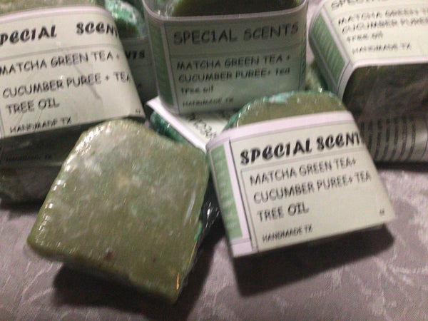 Matcha Green Tea Face Complexion Soap