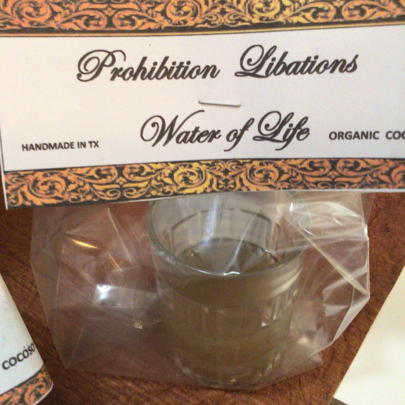 Whiskey Candles. Prohibition Libation Collection