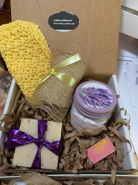 Lavender Calm Gift Box (small)