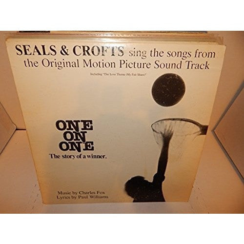SEALS & CROFTS--one on one (soundtrack) LP - Portofino Records