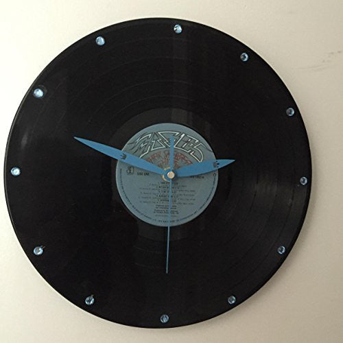 EAGLES GREATEST HITS ORIGINAL VINYL WALL CLOCK