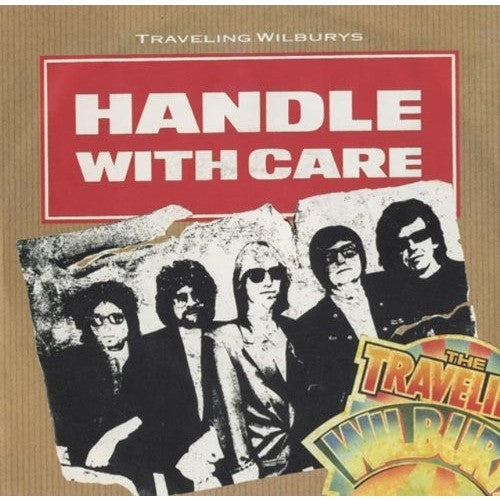 TRAVELING WILBURYS-- Handle With Care / Margarita -German Import 45 W/PS