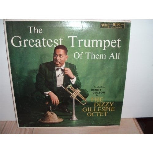 Dizzy Gillespie Octet - The Greatest Trumpet Of Them All--RARE!! - Portofino Records