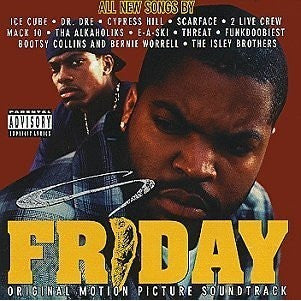 Friday: Original Motion Picture Soundtrack CD - Portofino Records