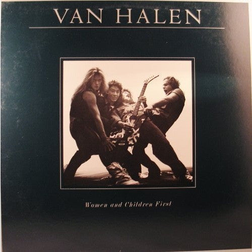 VAN HALEN--Women and Children First