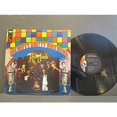 THE NITTY GRITTY DIRT BAND--Rare junk LP