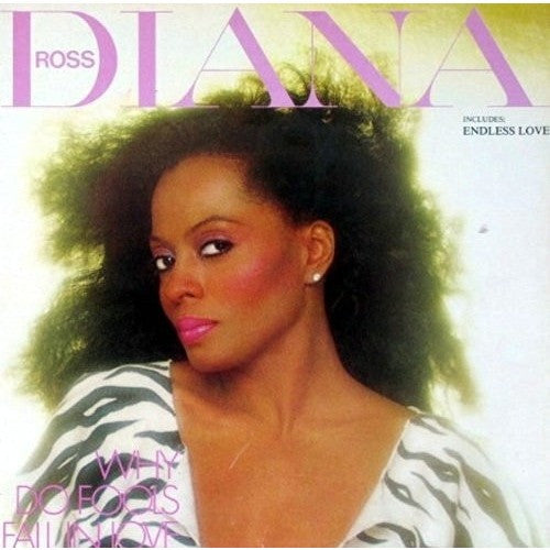 DIANA ROSS-Why Do Fools Fall In Love-LP - Portofino Records