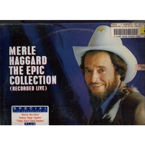 MERLE HAGGARD--The Epic Collection - Portofino Records