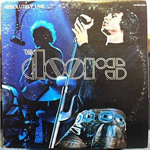 THE DOORS--Absolutely Live 2 LP