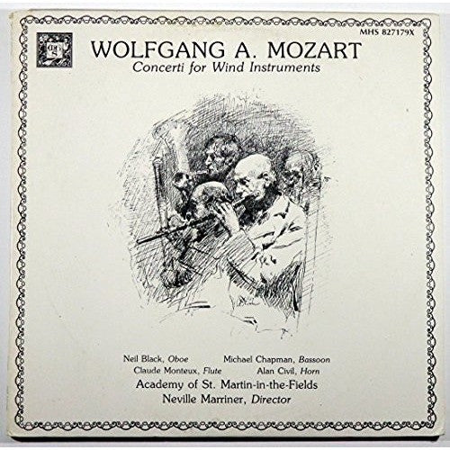 Wolfgang Amadeus Mozart: Concerti for Wind Instruments