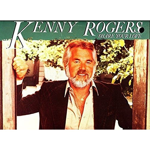 KENNY ROGERS--Share Your Love - Portofino Records