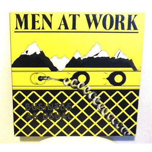 Men At Work - Business As Usual, pop rock, fun - Portofino Records