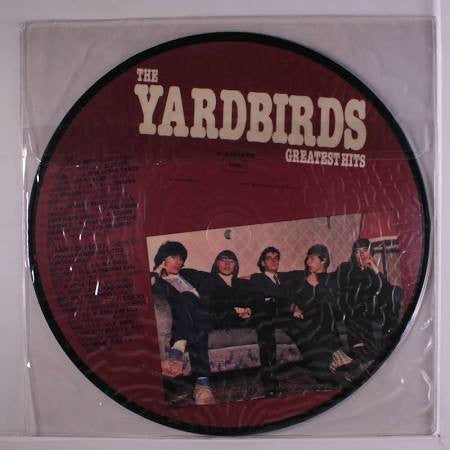 YARDBIRDS Greatest Hits PICTURE DISC