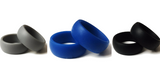 silicone active wedding bands