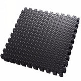 Set of 12 Interlocking Foam Exercise Mat Tiles. Great for Your Home Gym.