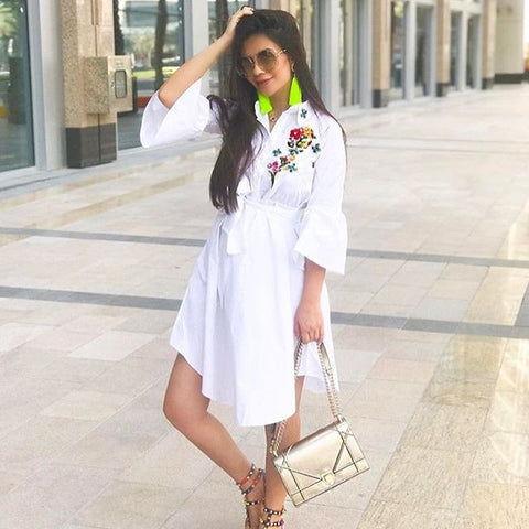 embroidered-white-shirt-princess-midi-dress