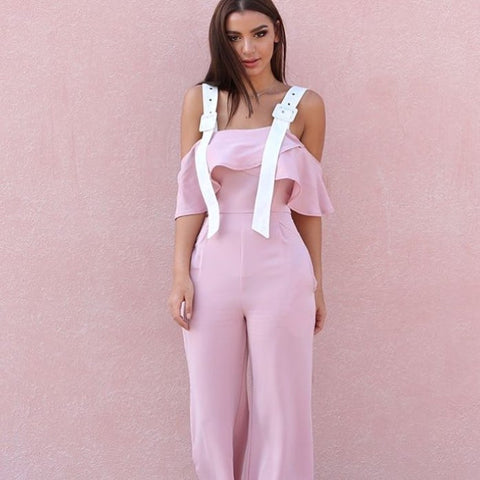 rose-and-white-belt-strap-off-the-shoulder-palazzo-jumpsuit