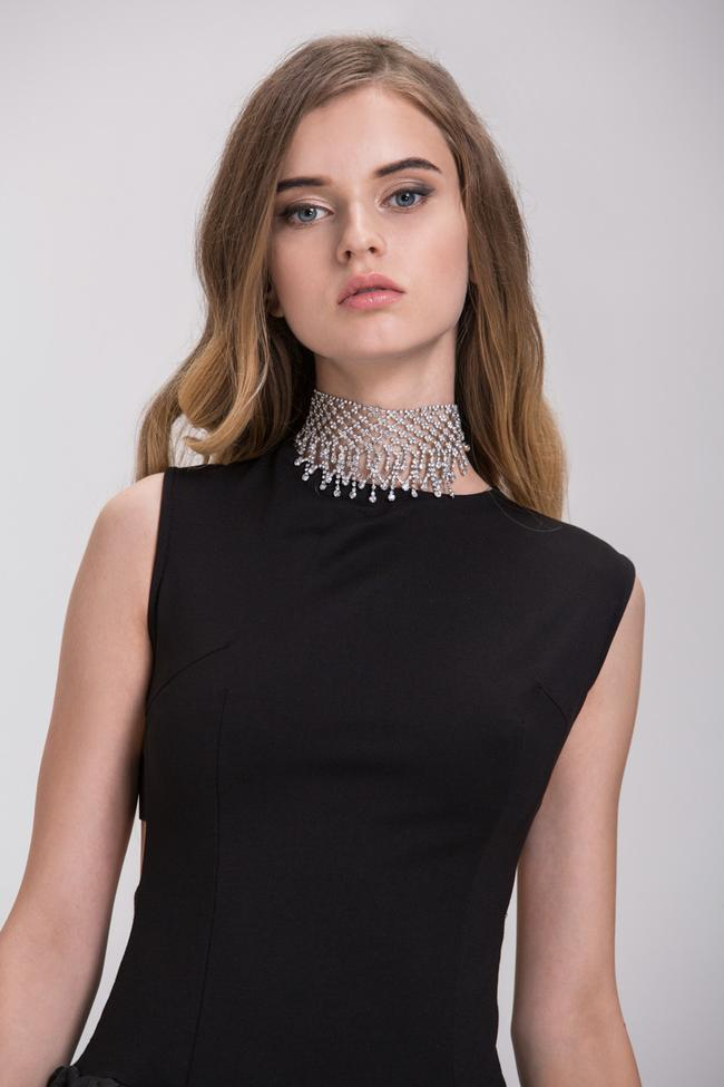 Rawan Bin Hussain - Diamond Mesh Choker Necklace
