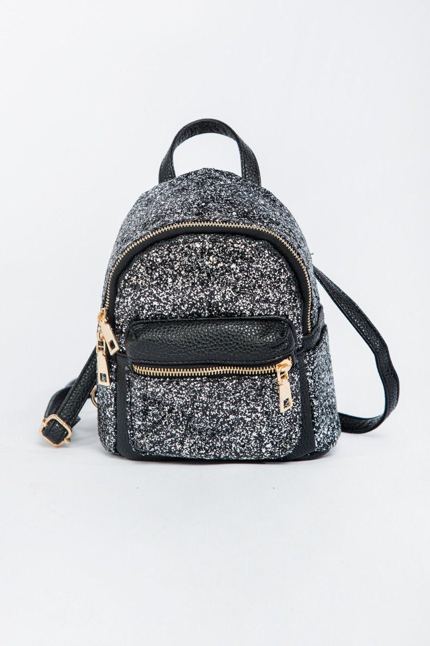 Silver Dust Mini Backpack