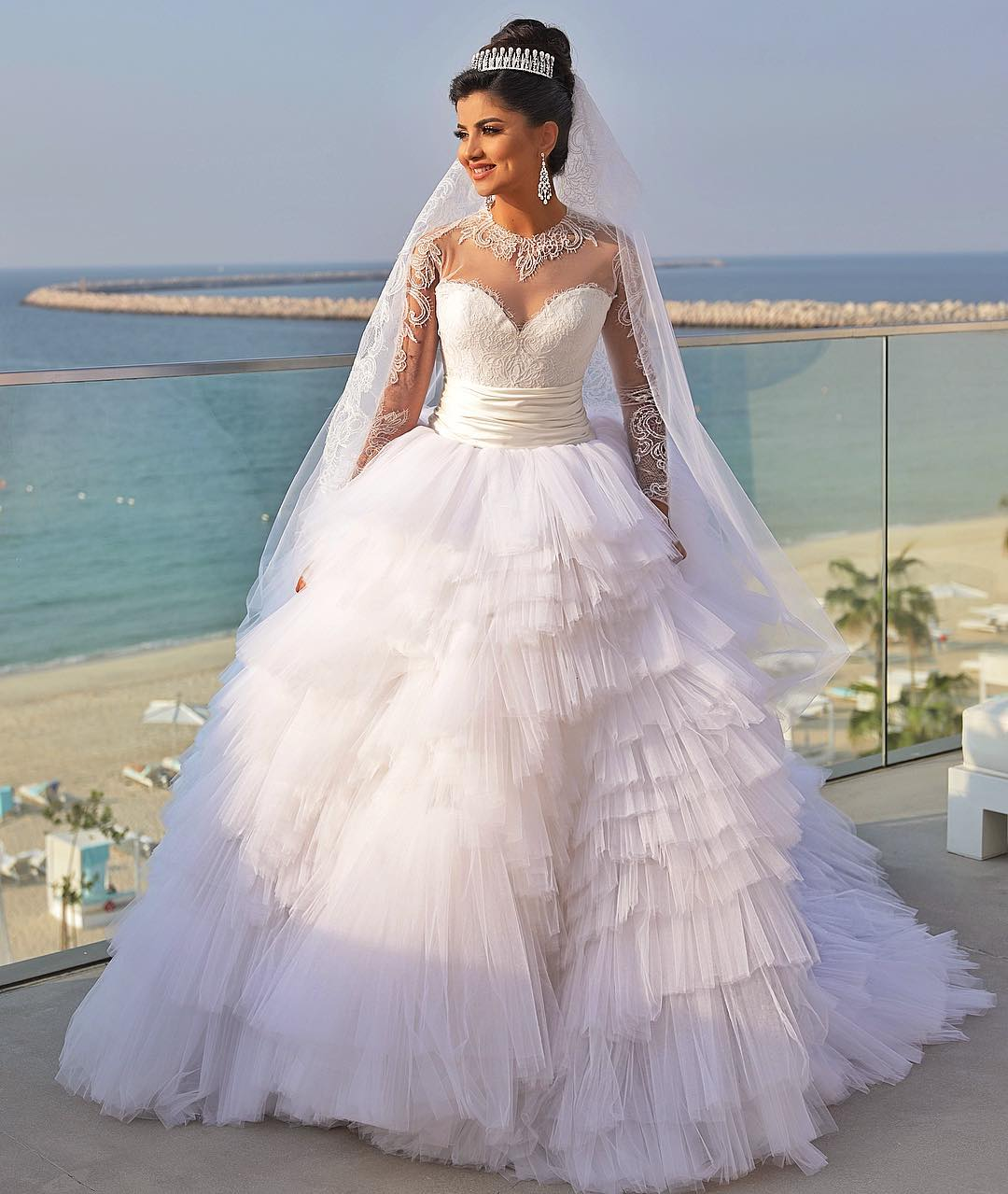 ola farahat wedding dress
