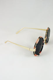 Flower Rim Sunglasses