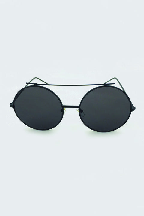 Slim Round Sunglasses 185
