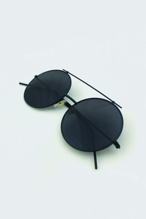 Slim Round Sunglasses 37