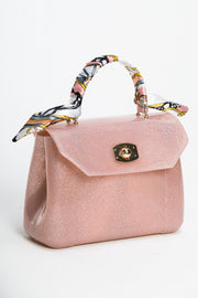 Blush Rubber Bunny Bag