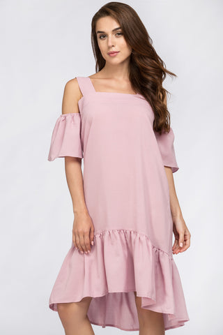 Famous Off The Shoulder Dress Pink 16